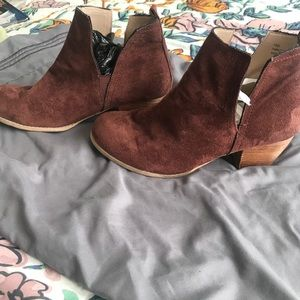 Ankle boots Faux Suede
